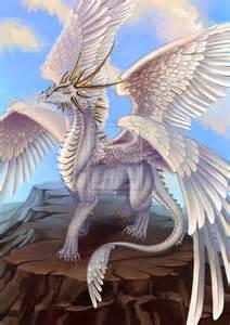 Female White Dragon
