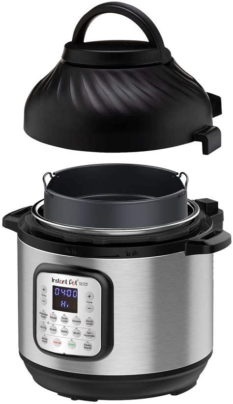 pot instant fryer air cooker pressure combo