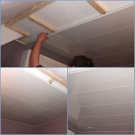 lambris pvc salle de bain castorama plafond pvc salle de bain