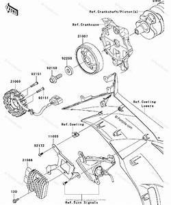 Kawasaki Motorcycle 2009 Oem Parts Diagram For Generator