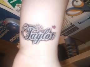 Name Tattoos On Wrist