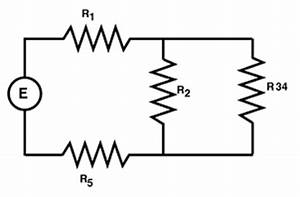 Fundamentals of electricity series parallel combinations for Simplify the circuit in a stepbystep fashion by combining groups of