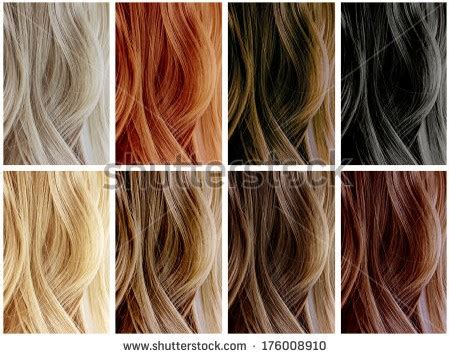 Different Hair Colour Names by Diferentes Colores Pelo Peinados
