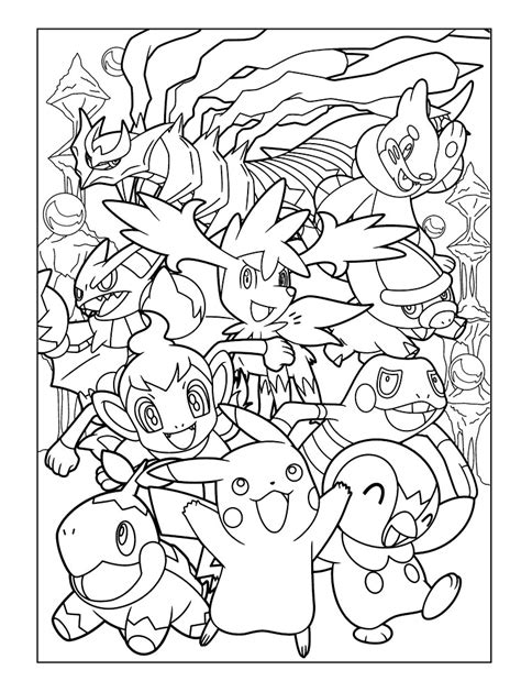 Pokemon X And Y Gam - Free Colouring Pages