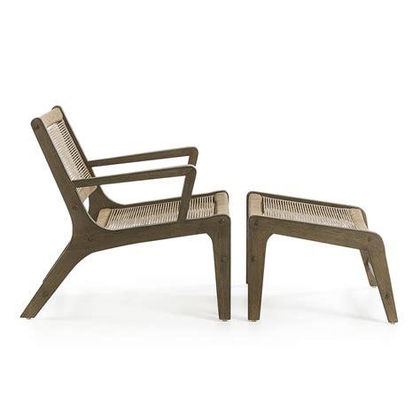 Poltrone Da Esterno by Poltrona Da Esterno Interno Dal Design Moderno In Corda Artura