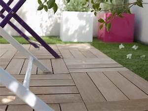 Dalle Terrasse Clipsable : dalles composites pour terrasse finest plots pvc pour des ~ Melissatoandfro.com Idées de Décoration