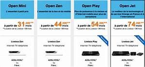 Comparaison Forfait Internet : internet orange les nouvelles offres adsl fibre et open ~ Medecine-chirurgie-esthetiques.com Avis de Voitures