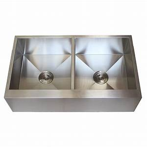 36 inch stainless steel flat front farmhouse apron kitchen With 36 inch apron front kitchen sink