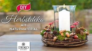 Deko Kitchen : diy s e herbstdeko mit naturmaterial selbermachen how to deko kitchen youtube ~ A.2002-acura-tl-radio.info Haus und Dekorationen