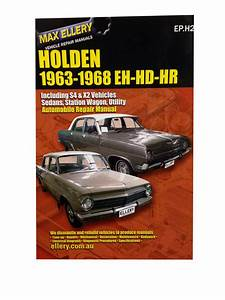 Holden Eh Hd Hr Workshop Repair Manual 1963-68