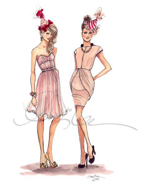 birthdayblogweb inslee haynes illustration fashion
