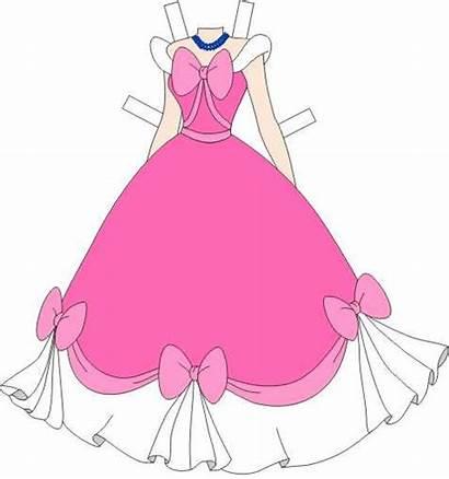 Paper Dolls Cinderella Pink Disney Doll Princess