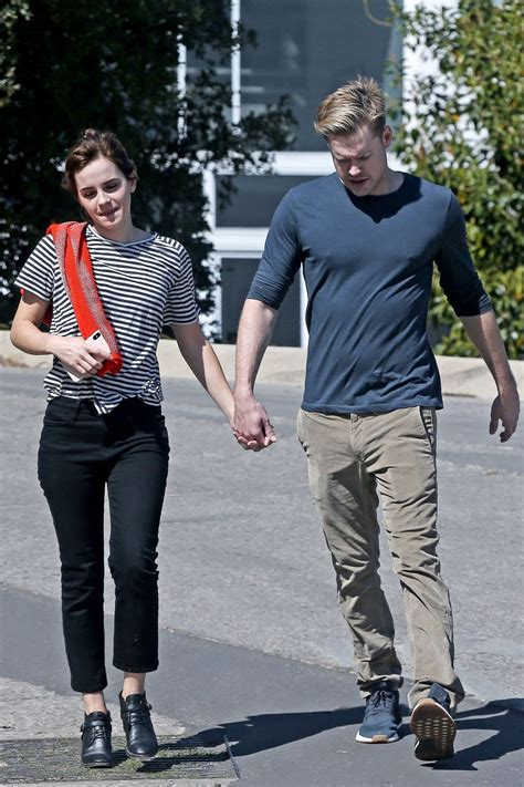 Emma Watson Chord Overstreet Out For Romantic Walk