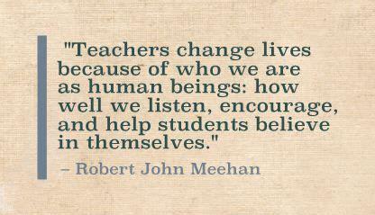 The Teacher's Journey By Robert John Meehan