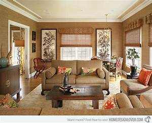 15 relaxing brown and tan living room designs fox home With relaxing living room decorating ideas