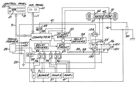 therma spa wiring diagram 25 wiring diagram images