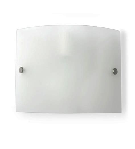 fos lighting frosted glass wall light by fos lighting