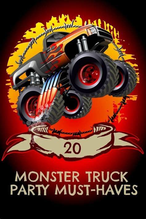 pa monster truck de 99 bästa cartoon monster truck bilderna på pinterest