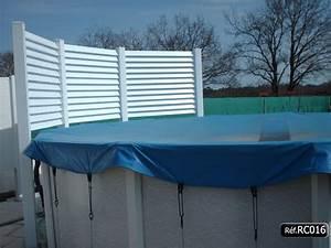 brise vue en pvc pour piscine terrasse pergola With brise vue pour piscine