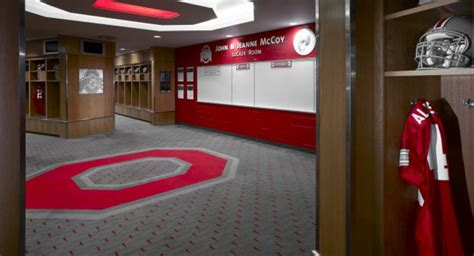 ohio states  million locker room eleven