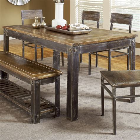 farm style table with bench farmhouse style dining room table chuck nicklin