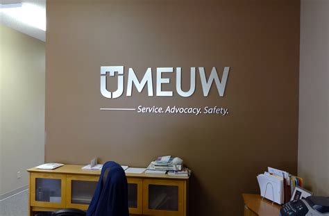 businessoffice interior signage madison sign lettering business office procedures depot wall