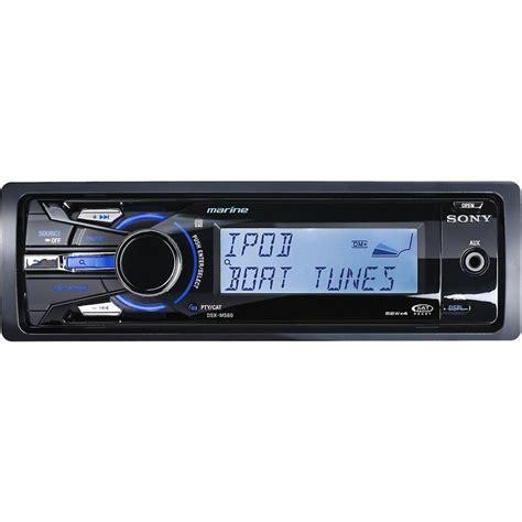 Boat Radio Talk by Sony Dsx Ms60 Marine Sirius Xm Ready Ipod And Iphone Hd