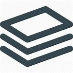 Icon Paper Stack Documents Supply Material Icons