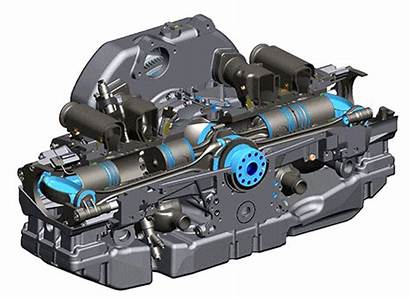 Engine Opoc Piston Opposed Types Cylinder Engineering