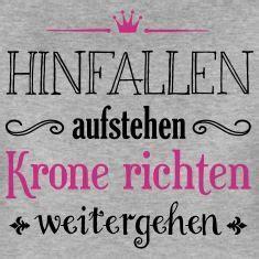 Spruch Krone Richten by Krone Richten 02 2c Frauen Premium T Shirt Grau Meliert