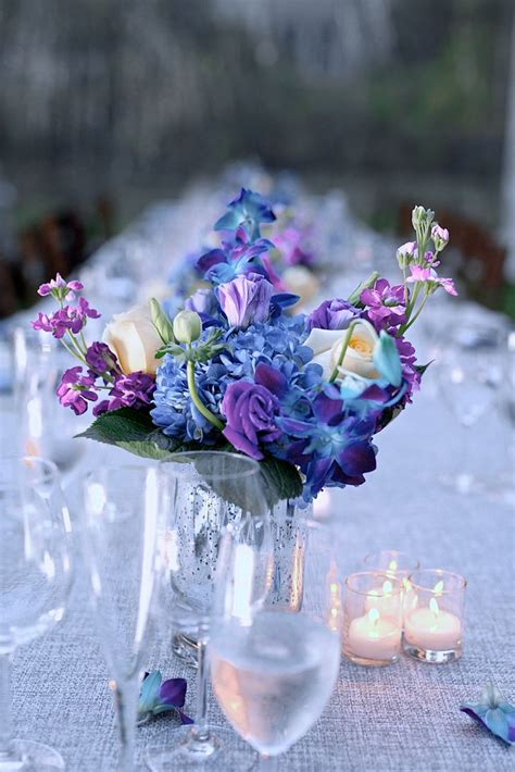 25 Best Ideas About Blue Centerpieces On Pinterest Blue