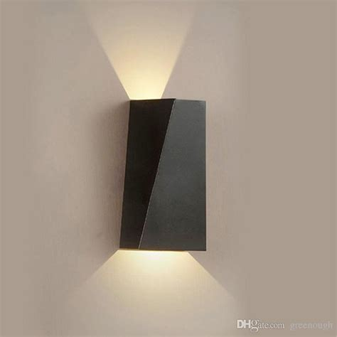 2019 6w indoor led wall sconce light fixture up wall l for bedroom living room hallway