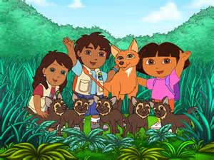 Go Diego Go Alicia and Dora