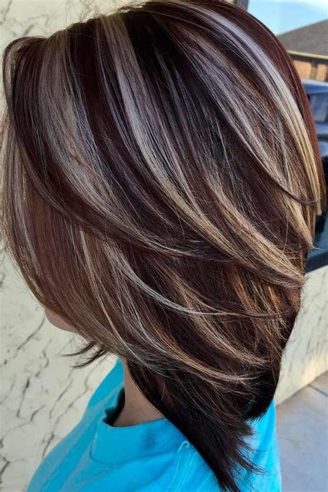 Hair Colors Images by 55 Highlighted Hair For Brunettes Hair Color Ideas For