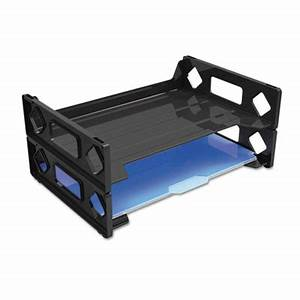 universalr recycled plastic side load desk trays sunbelt With corrugated metal letters walmart