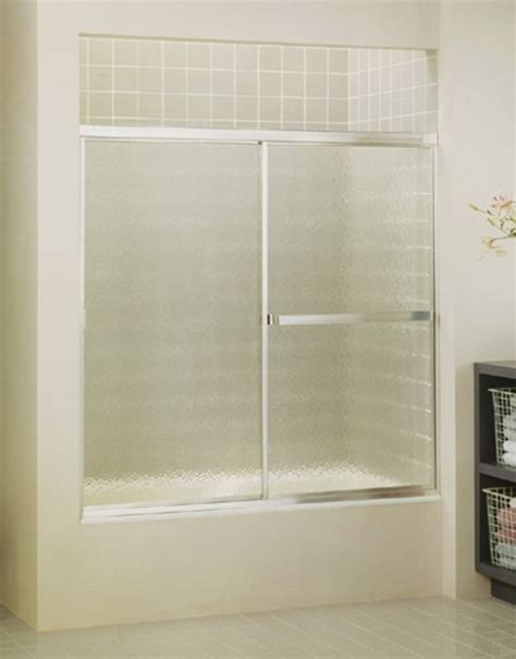 sterling shower doors sterling 690b 59s silver standard 56 7 16 quot x 59 quot framed