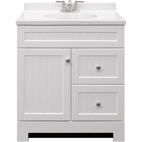 shop style selections ellenbee white integral single sink