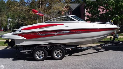 Crownline Boats Reviews by Crownline 210 Lx Performance Test Boats
