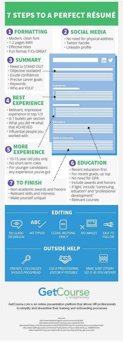 Resume Infographic Creator by Pin By Infographic On Infographics Creator