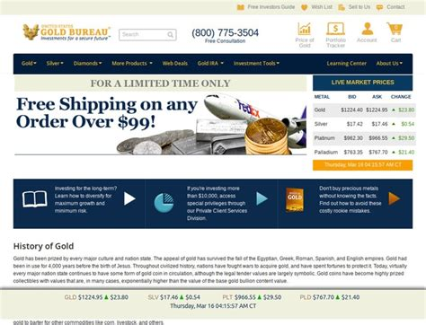 bureau promo invest in gold bullion coins at u s gold bureau