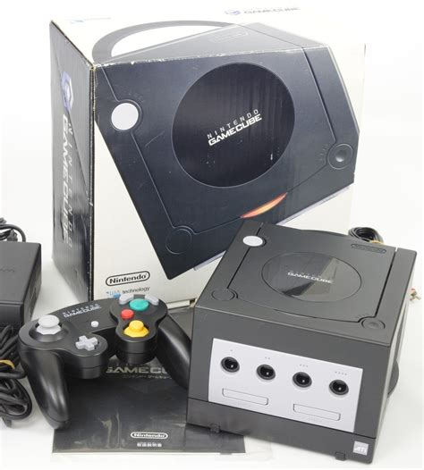 Gc Console by Cube Black Console System Dol 001 Nintendo Gc Japan