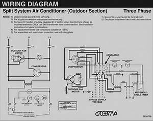 3 Phase Split Ac Wiring Diagram