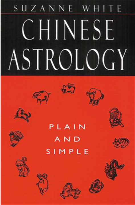 chinese astrology plain  simple  suzanne white