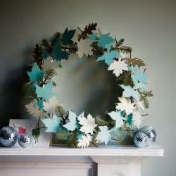 delicate paper wreath modern christmas decorating ideas christmas decorating ideas