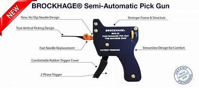Lock Pick Gun Automatic Semi Bpg Brockhage