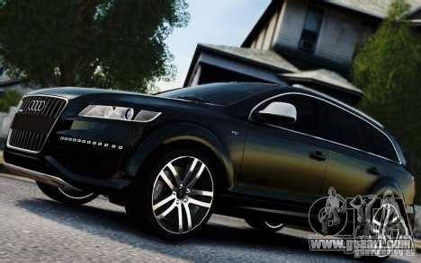 Audi Q7 V12 TDI 2009 for GTA 4