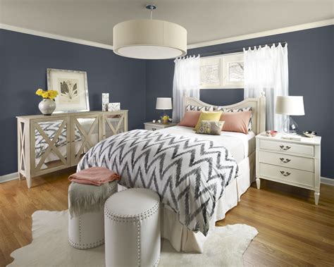 modern bedroom with trends color d s furniture