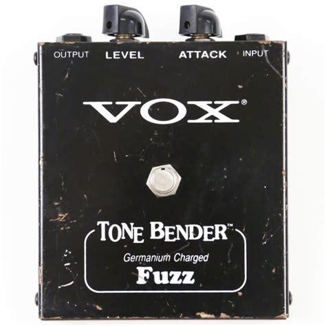 Vox Tone Bender Great Made Usa Germanium