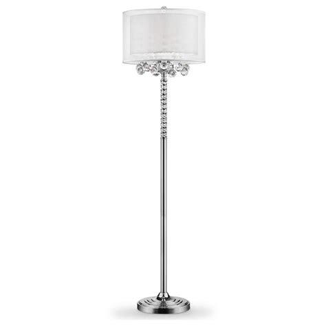 5 bulb floor l 62 5 in 3 bulb moiselle crystal floor l k 5149f the