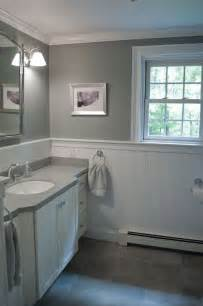 gray and white bathroom ideas new bathroom design custom by pnb porcelain look tile white beadboard wainscot